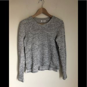 Madewell Cotton Gray Sweater
